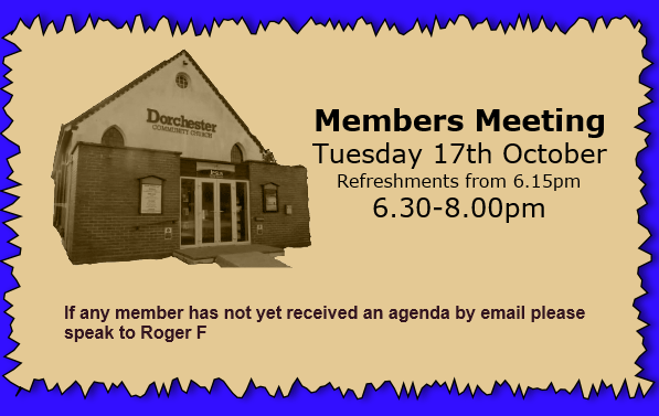 Members Autumn Meeting 2017