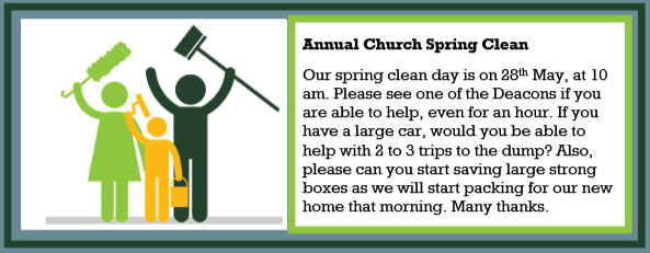 Church Spring Clean
