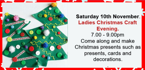 Ladies Christmas Craft Evening