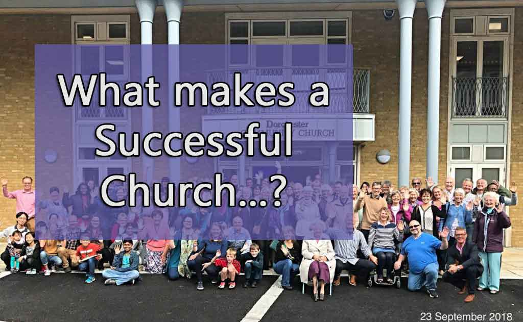 How should a successful church prepare? – PM