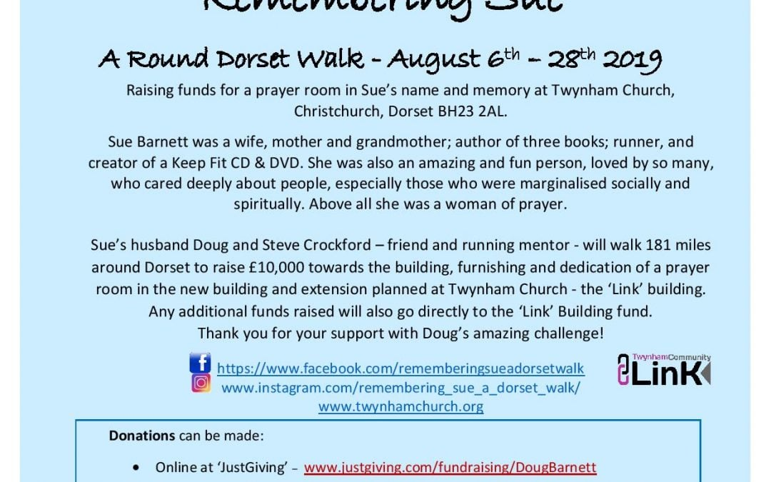 "Remembering Sue – ""A Round Dorset Walk"""
