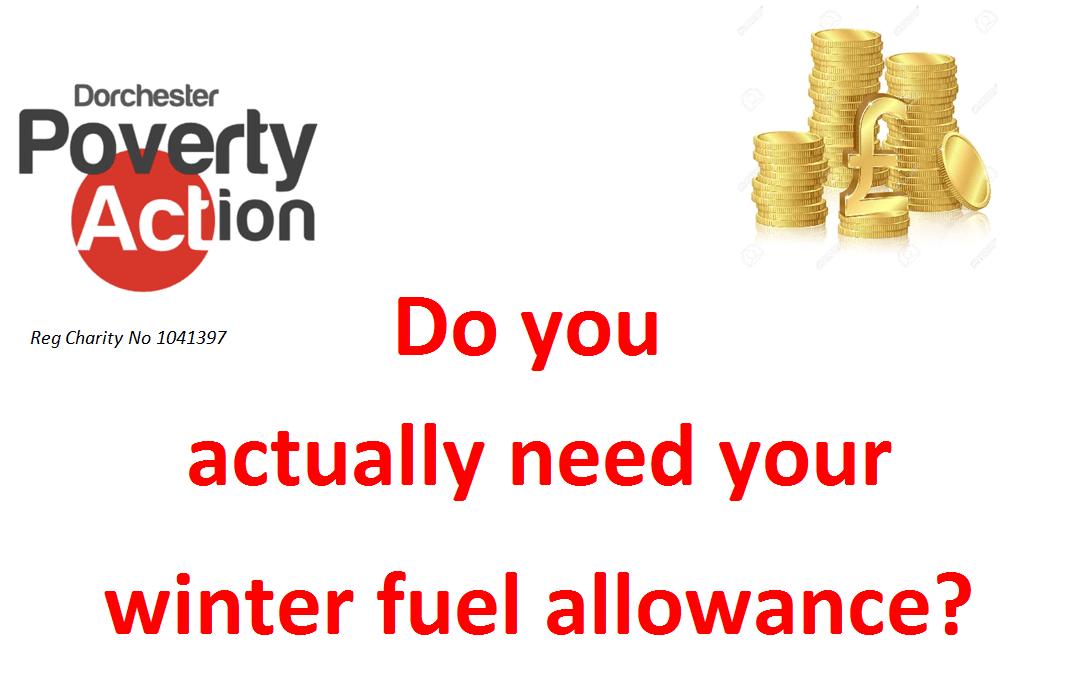 Winter Fuel Allowance