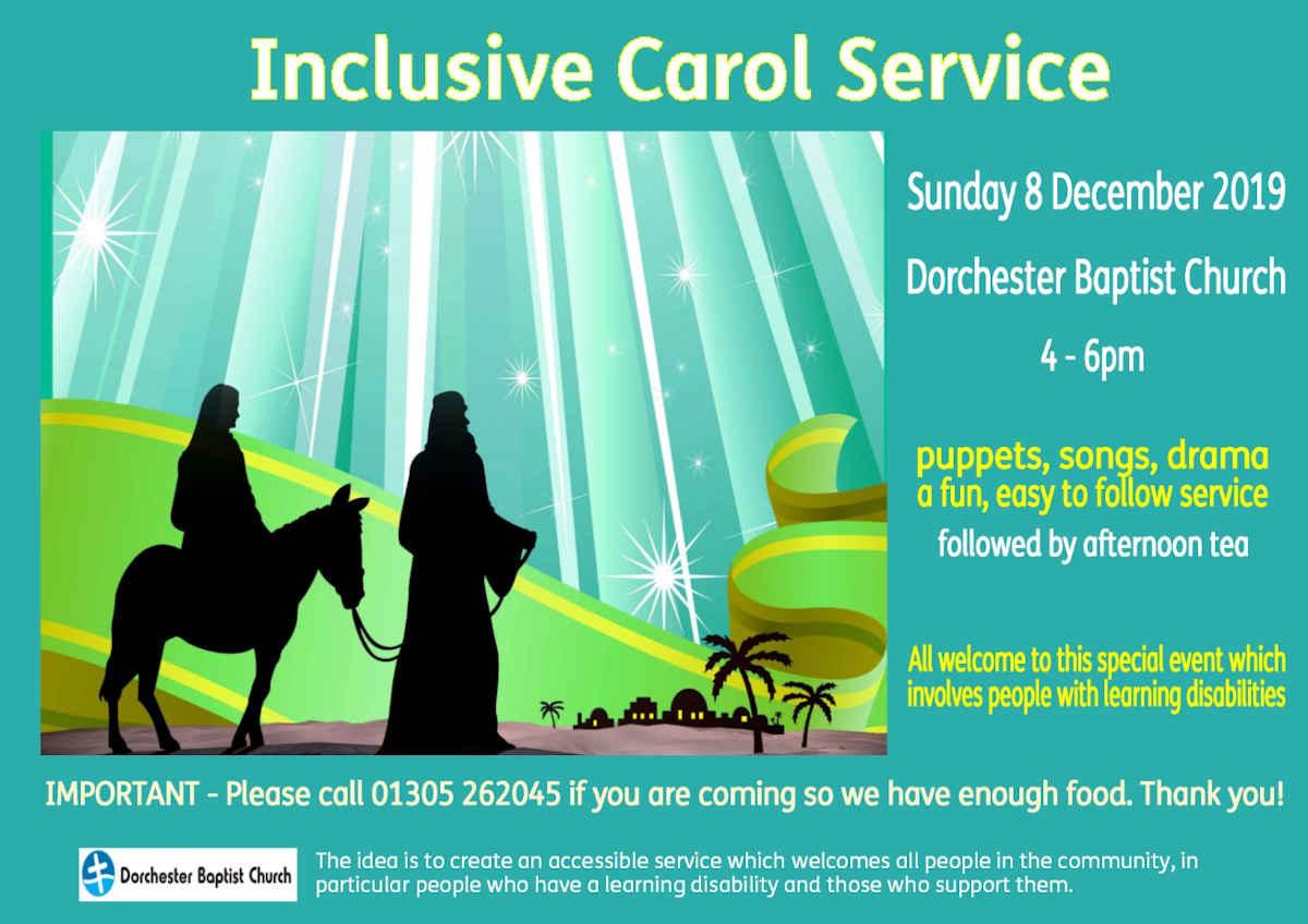 Inclusive Carol Service