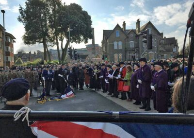 Roger attended the Remembrance Day 2019 Service where he led prayers this year
