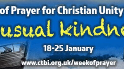Dorchester's  Week of Prayer for Christian Unity, January 2020
