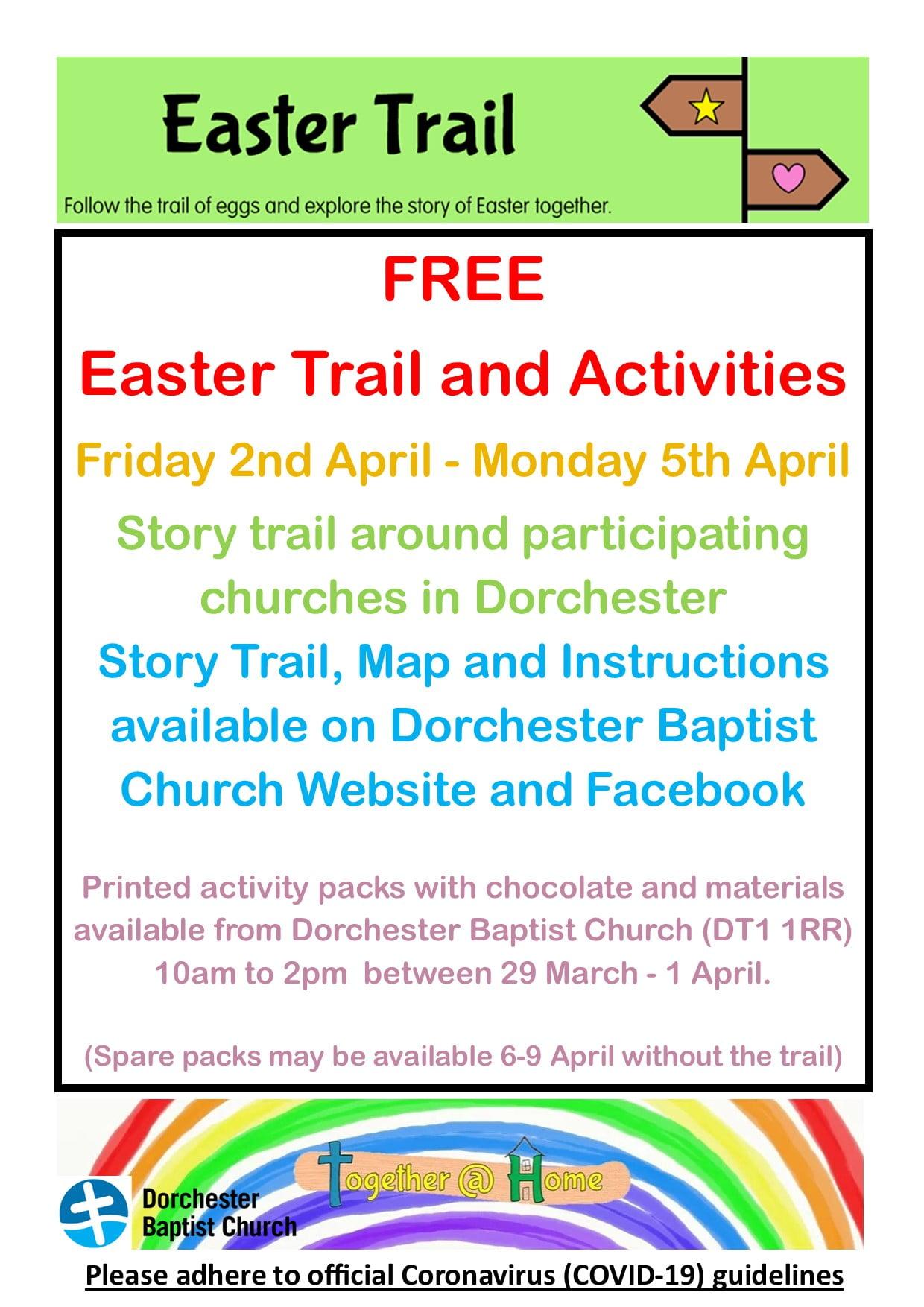 Easter Trail Flyer